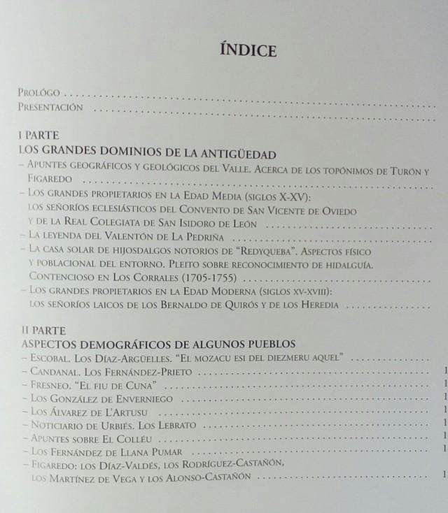 indice Lª V 1