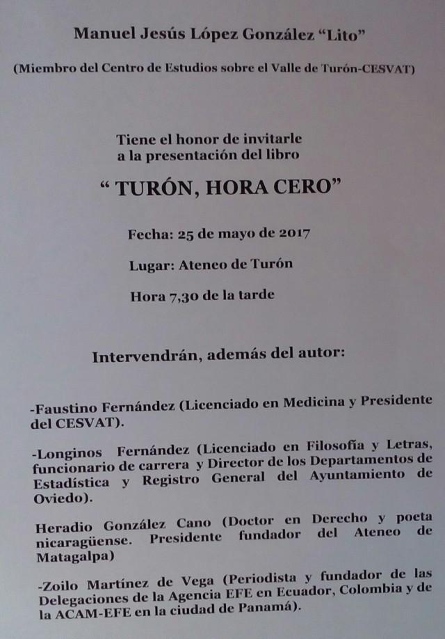 Cartel Lº IX Turon