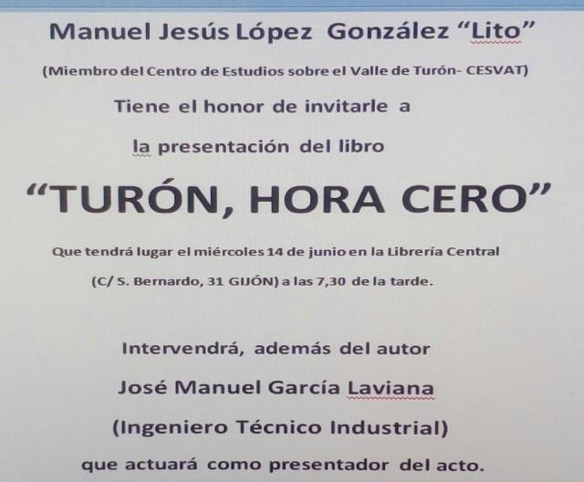 Cartel LºIX Lib. Central Gijón